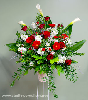 Red And White Rememberence