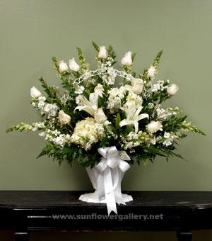 White Blooming Garden