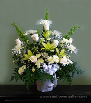 White Flower Spray