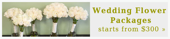 wedding flower special packages