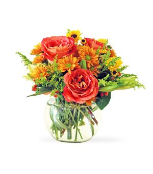 Warm Sensation - Fall Flowers