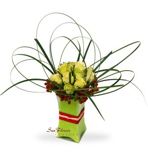 Green Symphony by Select Florists of Elmhurst, Il.
