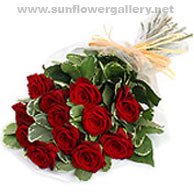 Elegant Rose Bouquet by Select Florists of Elmhurst, Il.