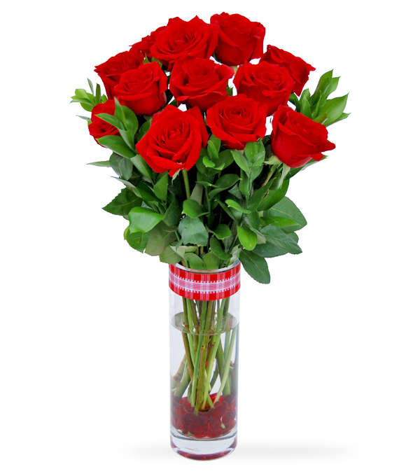 Red Blooms For You by Select Florists in Elmhurst, Il
