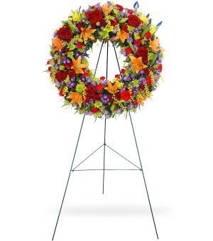 Vibrant Wreath