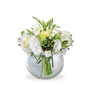 White Serenity by Select Florists of Elmhurst