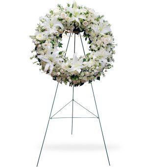 White Pure Wreath